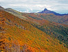 Fall colors of southern Chile on Casablanca Ski area