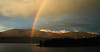 Wide Granby Rainbow, Lake Granby, CO<br /> <br /> Our first day camping on the Eastern tip of lake Granby.  Jeff and I went to take pictures of the sunset after a late afternoon downpour.