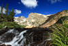 Isabelle Falls, Lake Isabelle, Indian Peaks Wilderness, CO<br /> <br /> My attempt at a slow shutter moving water shot.  Considering this was my first trip with a real camera I think it's not bad.  But now I have a real tripod too, so I'll have to try try again... and again....