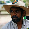 One of the Bana Rangers that came to the campground to welcome us to the Aboriginal Lands.