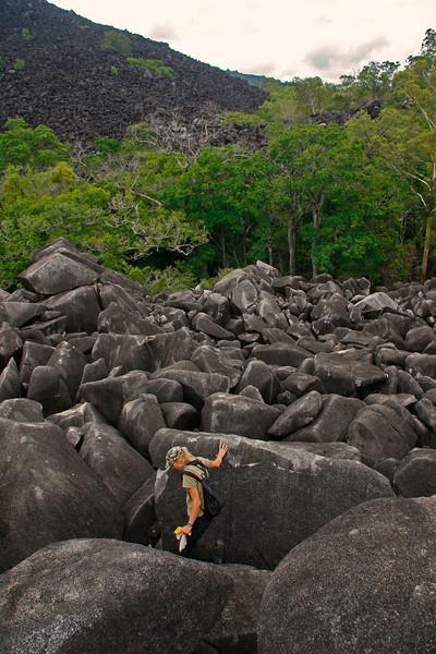 Black mt bouldering