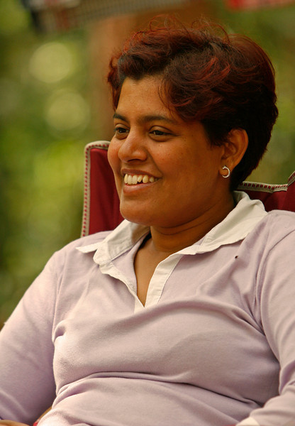 Ashwini was from india and had her way paid by her employer.