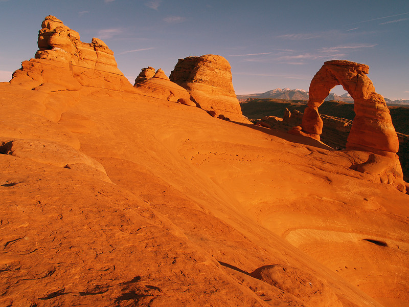 Delicate Arch. Arches National Monument. Utah.