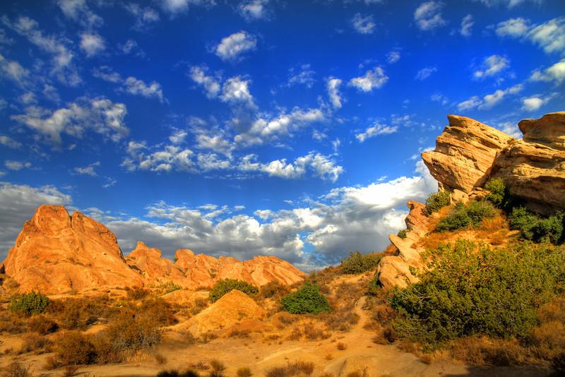 Vasquez Rocks. Located in Agua Dulce, CA.