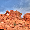 Elephant Rock in Valley Of Fire. Nevada.