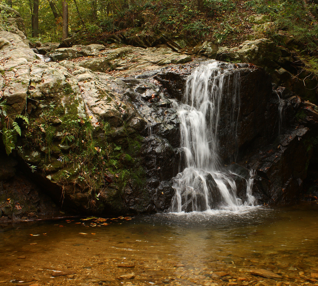Cascade Falls in Patapsco Valley State Park.