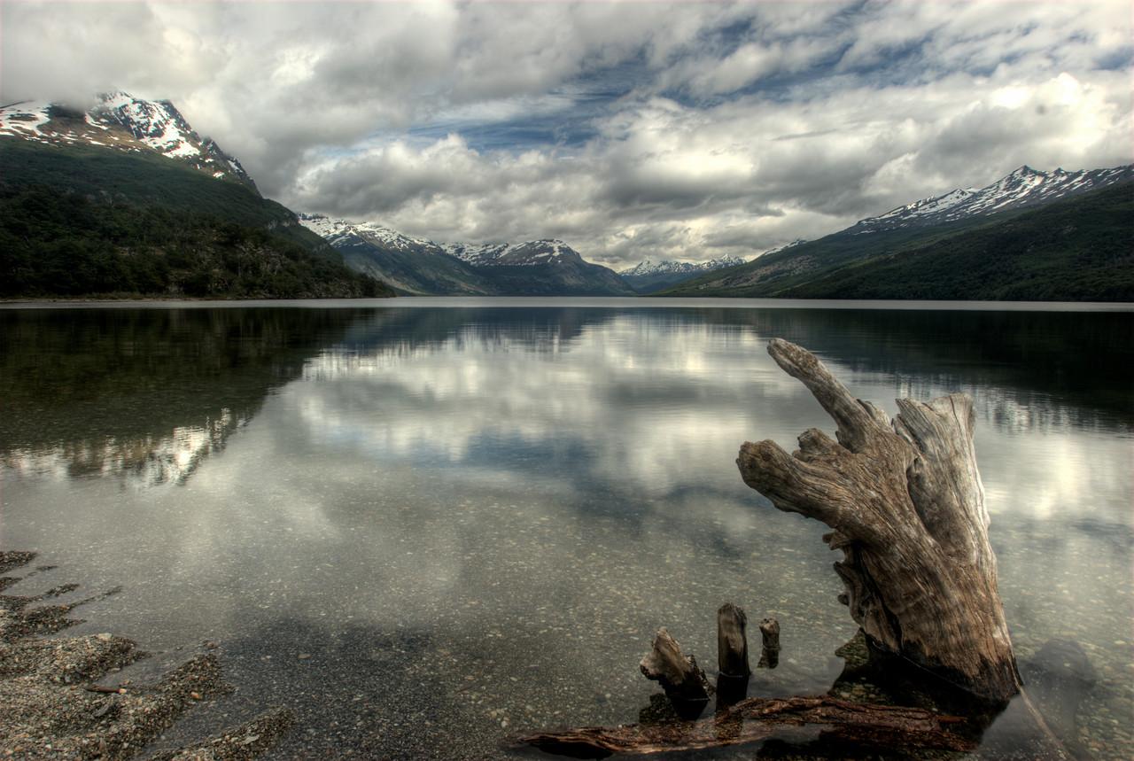 HDR image of Tierra del Fuego NP