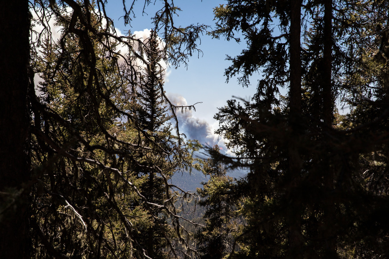 The Tres Lagunas fire that chased us out!