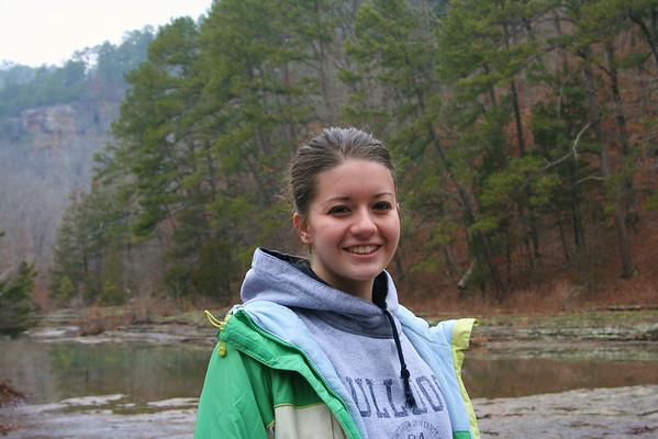Erika at Haw Creek 1-10-09