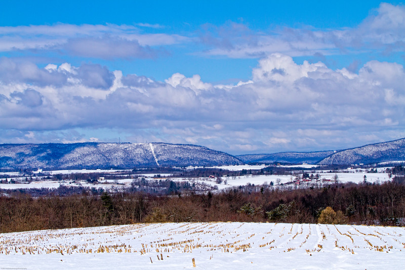 Looking West to Tussey Mountain
