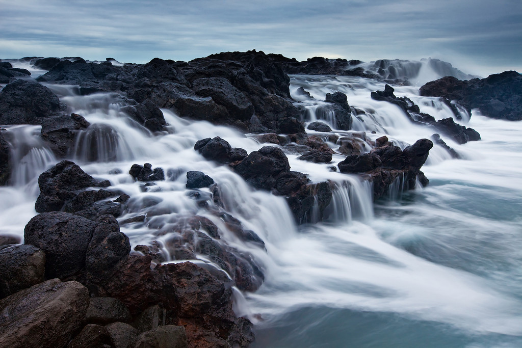 High Tide at the Honolua Tide Pools, Maui