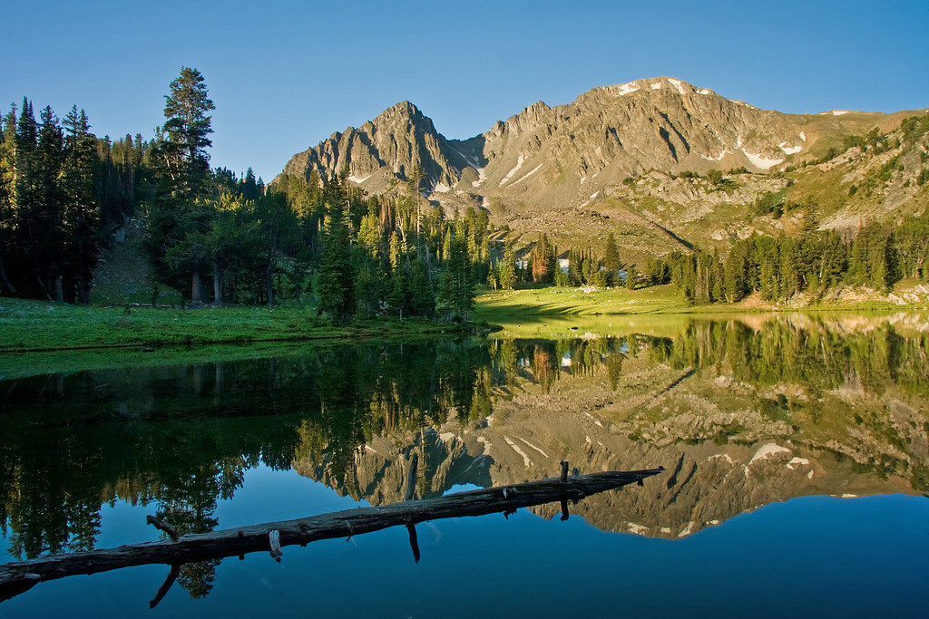 Ha Hand Lake, Hilgrard Basin<br /> Lee Metcalf Wilderness, Montana