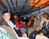 Tambopata rainy boat ride in july 25