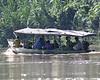 Tambopata River banana boat 2