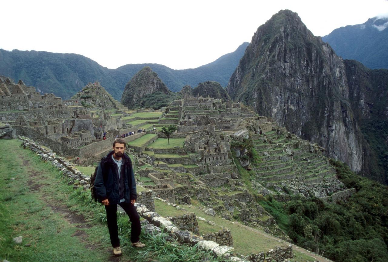 At Machu Picchu