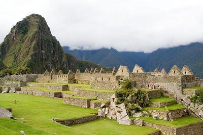 Machu Picchu is a very spirtual place
