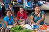 Ladies selling vegetables