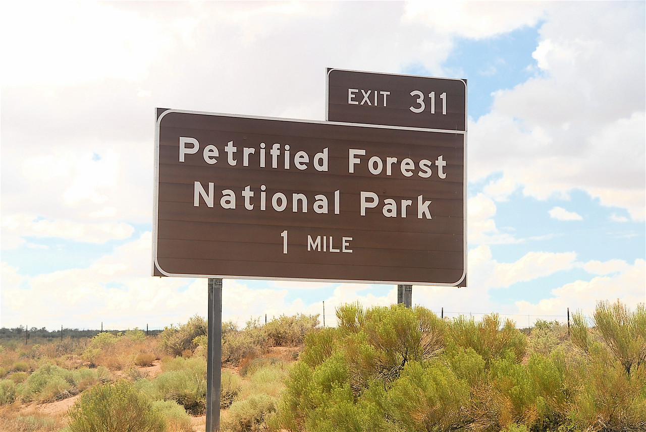 Sign on I-40