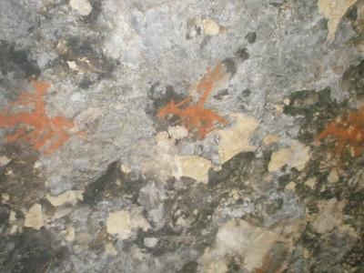 Saddlerock, Chumash cave art 09-04-2009