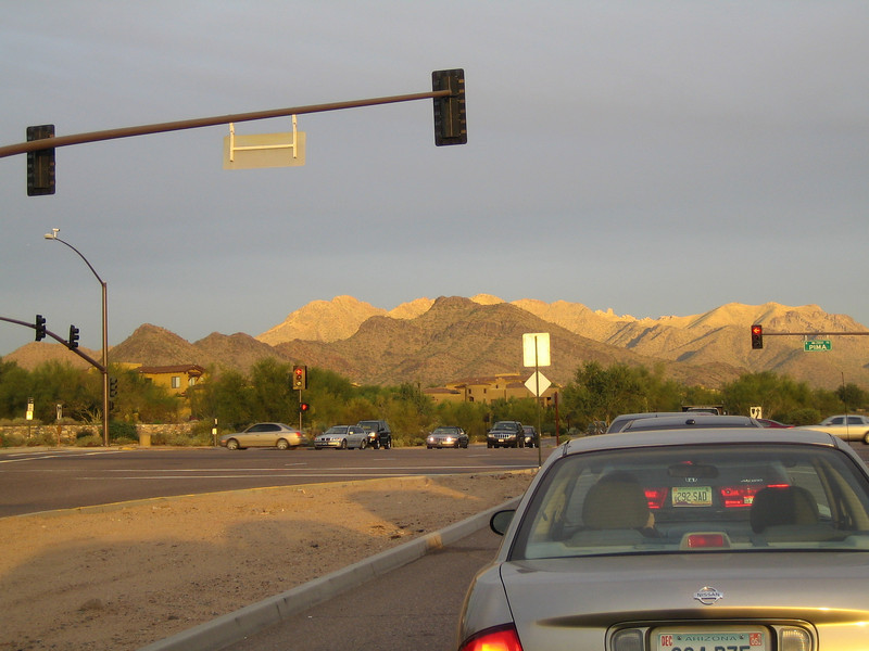 2005 - McDowell Mountains east of Scottsdale