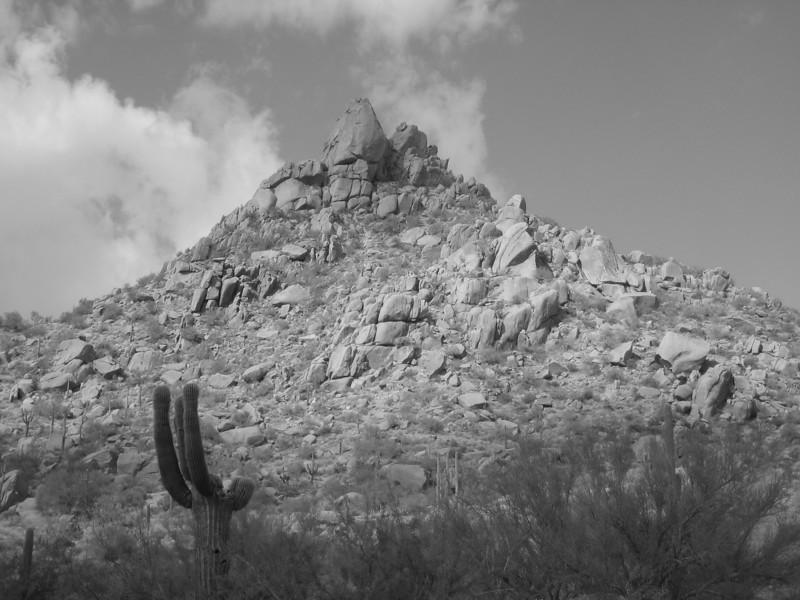 Pinnacle Peak 9-22-10 BW