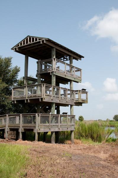 Observation Tower at Lake Jackson
