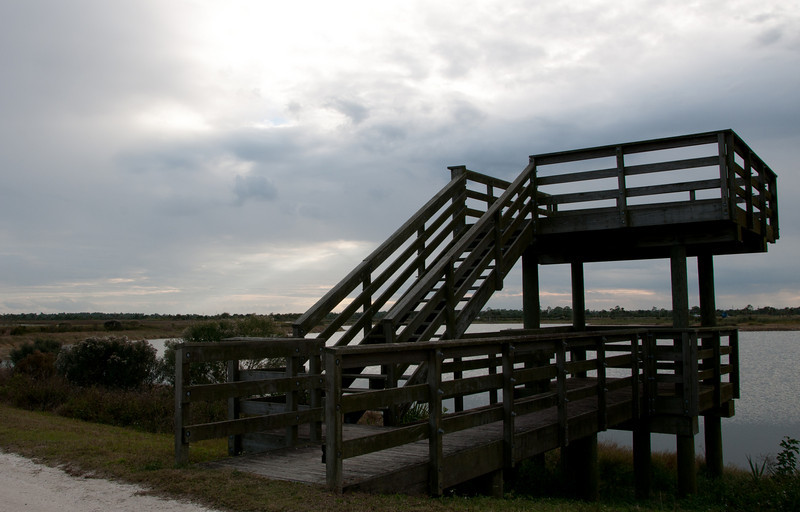 • Observation Tower at the Viera Wetlands<br /> • Pre HDR