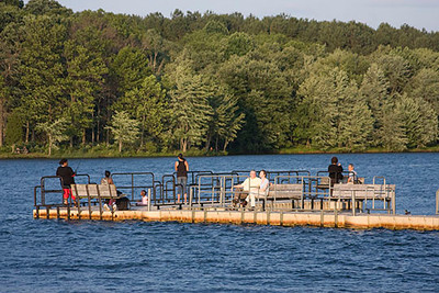 Fishing Pier, Piney Run Park