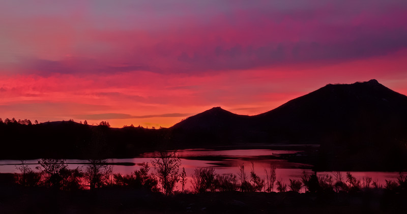 Dawn at Lake Cuyamaca