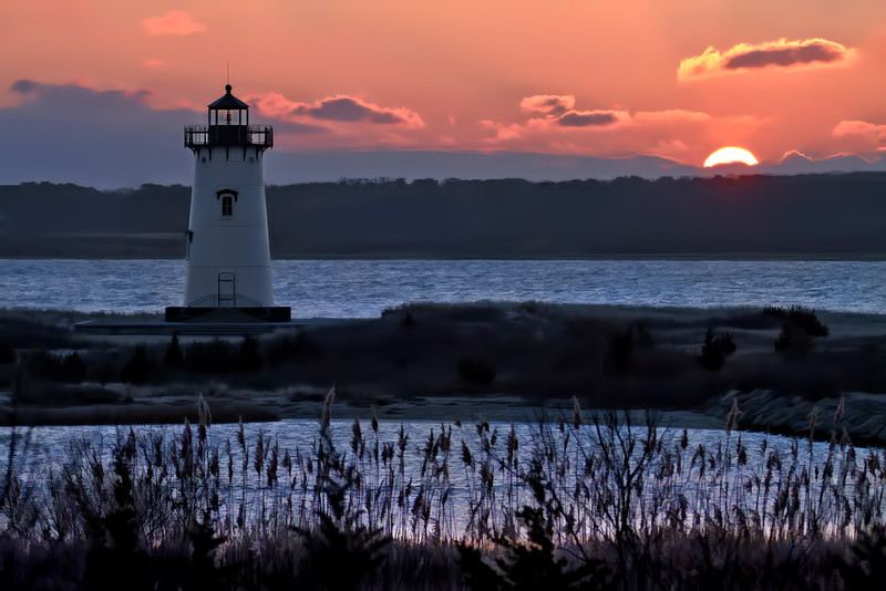Sunrise at Edgartown Lighthouse