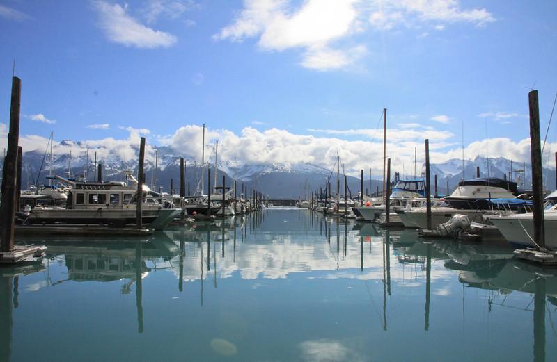 Harbor in Seward Alaska