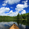 """  Canoeing in the Clouds  ""  Magazine Cover Photo 2013 August &amp; September Issue of <br /> ""Our Wisconsin Magazine"