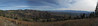 Panorama view from the ski hill
