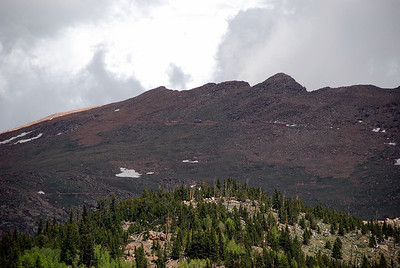 Cog Railway Trains on Pikes Peak