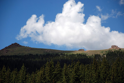 Ridge Southeast of Sheep Mountain