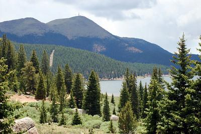 Mason Reservoir and Mt. Baldy