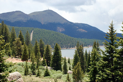 Mason Reservoir and Mt. Baldy