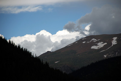 Storm Clouds Brewing on Pikes Peak