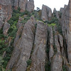 A look at the spires of Pinnacles NM.