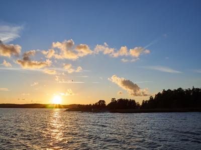 Raumanmeri sunset