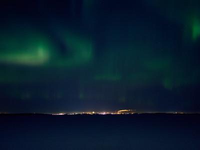 Aurora Borealis over Kemi