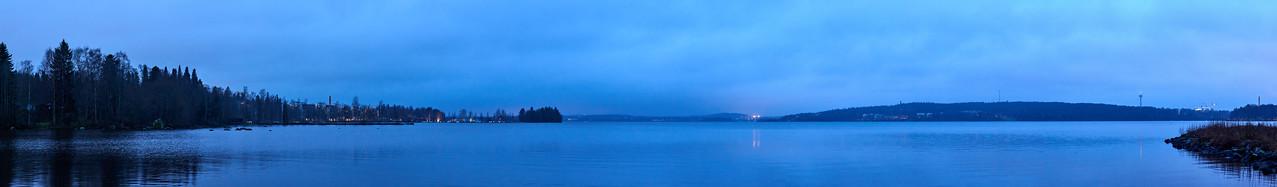 Blue Morning 14 Pyhajarvi Pirkkala Nokia and Pyynikki
