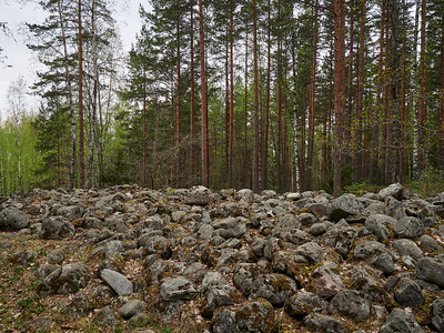 Ancient fortress of Rapolanharju  6 Bring some stones