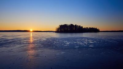 Pyhajarvi sunrise