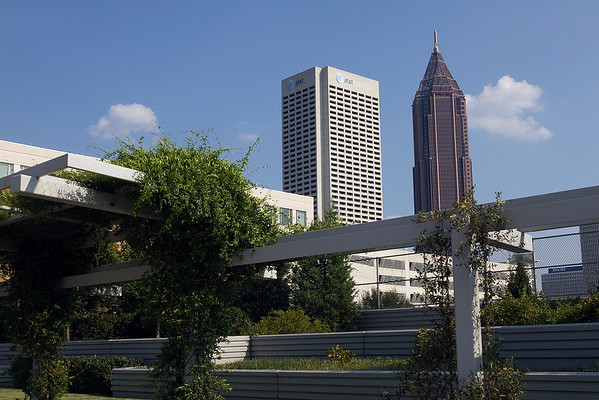 "The 5th Street ""Green Bridge"" Atlanta - Midtown Featured in Atlanta's Midtown Mile Book , 2010"