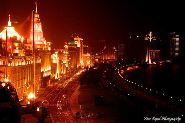 Historic street on the Bund
