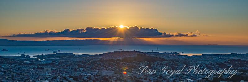 Twin Peaks SF Sunrise