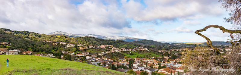 Almaden Valley Snow