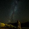 Milkyway - mammoth hot springs