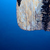 Sharp reflection of El Capitan in early morning stillness